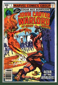 John Carter Warlord of Mars Annual #3 (1979)