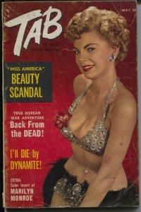 Tab 5/1953-Marilyn color pix-tattoos-cheesecake-exploitation-VG