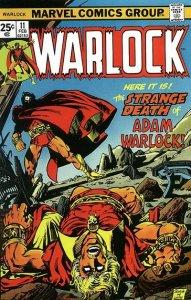 Warlock #11 (ungraded) stock photo