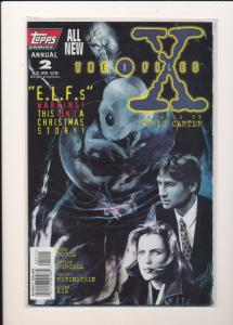 TOPPS Comics Annual #2 THE X FILES VF (SIC166)