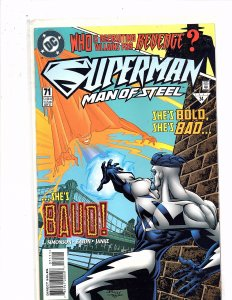 DC Comics (1991) Superman The Man of Steel #71 Superman Blue