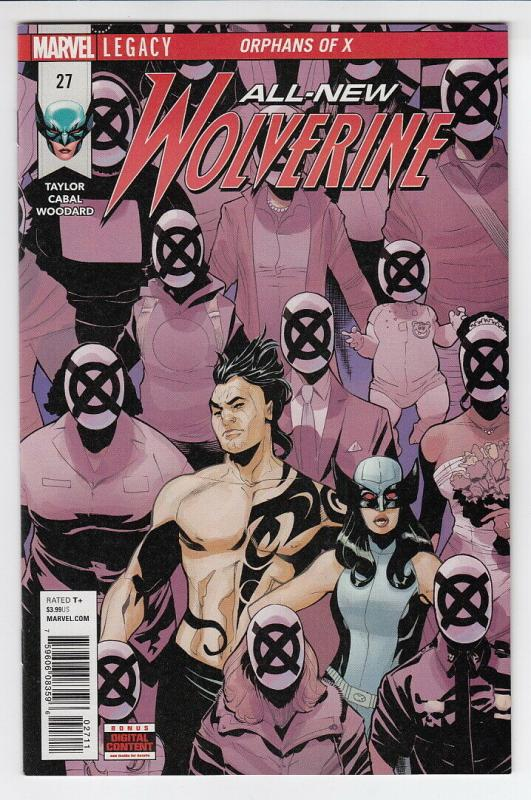 ALL NEW WOLVERINE (2016 MARVEL) #27 NM- A59262