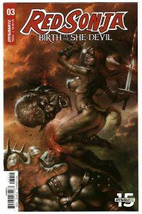 Red Sonja Birth Of She Devil #3 Cvr A Parrillo (Dynamite, 2019) NM