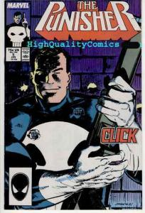 PUNISHER #5, NM-, Mike Baron, Klaus Janson, 1987, Blood, more in store