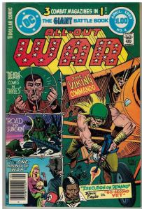ALL OUT WAR (1979) 4 VG-F ($1 CVR) April 1980