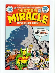 Mister Miracle #18 Jack Kirby Cover and Art DC Comics 1974 VF+