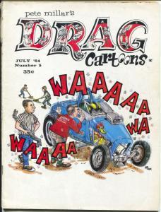 Drag Cartoons #5 1964-Millar-Alex Tothy-Russ Manning-Warren Tufts-G