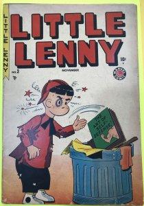 LITTLE LENNY #3 Dr. PEPPER SOFT DRINK COMIC BOOK GIVEAWAY PREMIUM November 1949