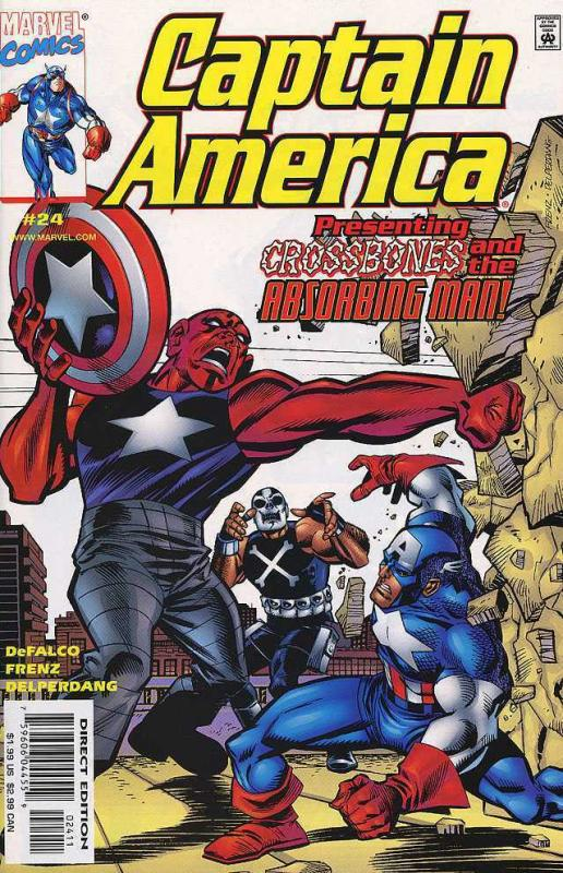 CAPTAIN AMERICA 21ST CENTURY COLLECTION 20 Different