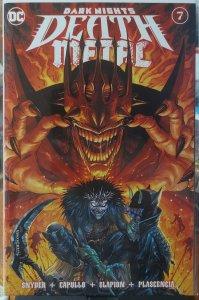 Dark Nights Death Metal #7 NM variant cover