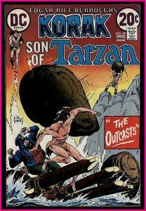 KORAK SON OF TARZAN  52 KALUTA KUBERT 1973 VF/+