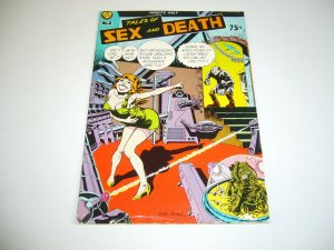 Tales of Sex And Death #2 kim deitch - spain rodriguez  justin green underground