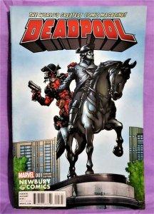 Gerry Duggan DEADPOOL #1 Newberry Comics Variant Cover (Marvel, 2016)!
