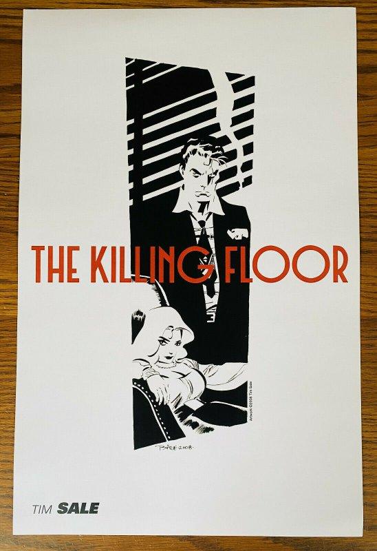 TIM SALE THE KILLING FLOOR 11x17 ART PRINT 2008 NAKED FAT RAVE SDCC Portfolio