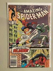 Amazing Spider-Man #272 Newsstand edition 8.0 VF (1986)