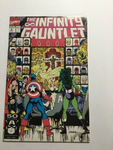 Infinty Gauntlet 2 Near Mint Nm Marvel