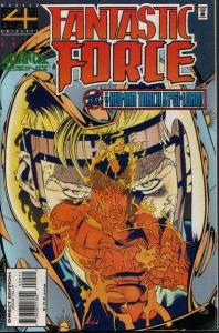Fantastic Force (1994 series) #9, VF+ (Stock photo)