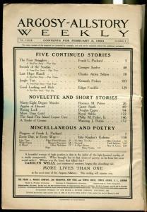Argosy All-Story Weekly-2/3/1923-Munsey-pulp thrills-FR