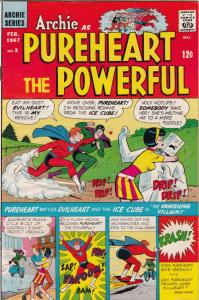 Archie As Pureheart The Powerful #3 (Feb-67) FN/VF+ Mid-High-Grade Archie as ...