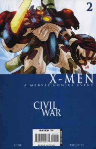 Civil War: X-Men #2 FN; Marvel | save on shipping - details inside