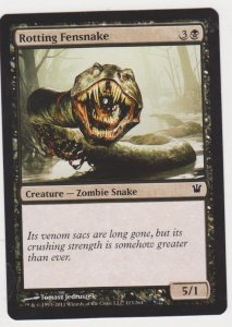 Magic the Gathering: Innistrad - Rotting Fensnake