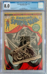 Amazing Spider-Man, #113 first App of Hammerhead