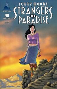 Strangers in Paradise (3rd Series) #90C FN; Image | save on shipping - details i