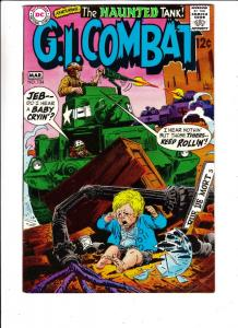 G.I. Combat #134 (Mar-69) VG Affordable-Grade The Haunted Tank