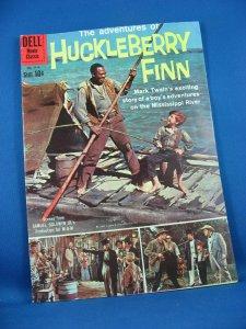 Four Color 1114 HUCKLEBERRY FINN F VF Photo Cover 1960