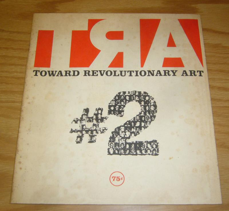 TRA #2 VG toward revolutionary art 1972 seeks liberation of art from its keepers