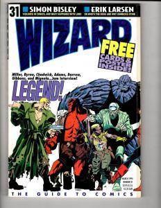 4 Comic Book Magazines # 31 Superman Trib Hero 11 Overstreet Monthly 12 J295