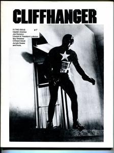 Cliffhanger #7 1987-WOY-Capt America-old movie serials-Spy Smasher-FN/VF