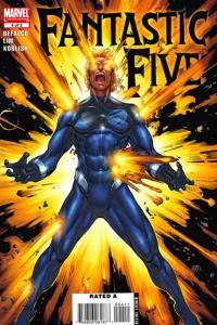 Fantastic Five (2007 series) #4, NM (Stock photo)