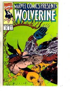 Lot Of 6 Marvel Comics Presents Comic Books # 87 88 86 120 122 131 Wolverine TP6