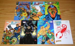 Scorpion Corps #1-7 VF/NM complete series - dagger comics set lot 2 3 4 5 6 1993