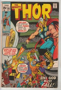 Thor, the Mighty #181 (Oct-70) VF High-Grade Thor