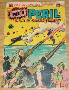 Operation: Peril #13 VG- november 1952 war on land, sea and air - ACG G.I.'s