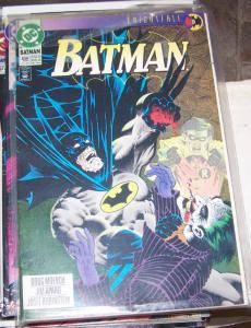 Batman #496 (Jul 1993, DC) knightfall pt 9 joker scarecrow + tim drake