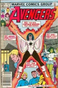 Avengers #227 stock photo ID#B-1