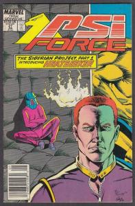 PSI FORCE #27, VF/NM, Marvel, 1986 1989  more Marvel in store