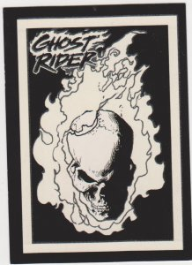 1992 Ghost Rider II Trading Card Glow in the Dark #G10Grin and Bear It