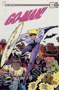Go-Man! #2 FN; Caliber | save on shipping - details inside