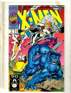 Lot of 12 X-Men Marvel Comic Books #1 1 1 2 3 5 6 7 8 9 11 12 J418
