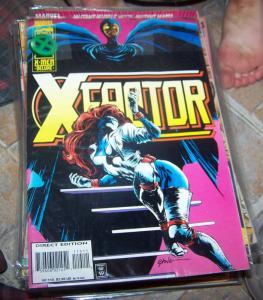 X-Factor # 115  oct 1995 marvel deluxe  mutants xmen mistique havoc polaris