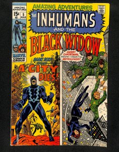 Amazing Adventures #5 Inhumans Black Widow!