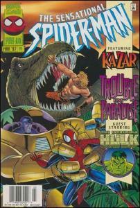 Marvel THE SENSATIONAL SPIDER-MAN (1996 Series) #14 VF