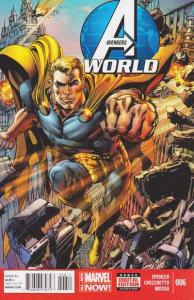 Avengers World #6, NM + (Stock photo)