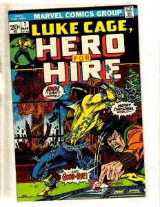 Luke Cage Hero For Hire # 7 VF/NM Marvel Comic Book Moriah Diamondback TV JF11