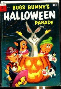 Dell Comics Bugs Bunny's Halloween Parade #2