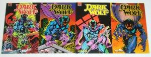 Dark Wolf vol. 2 #1-4 VF/NM complete series - butch burcham - malibu comics
